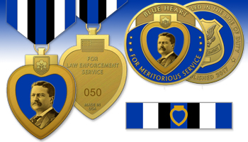 Blue Heart Medal